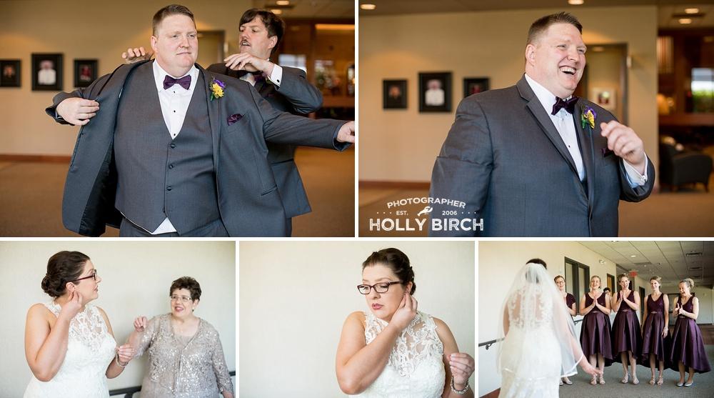 Emily Aj Doubletree By Hilton Wedding Bloomington Illinois