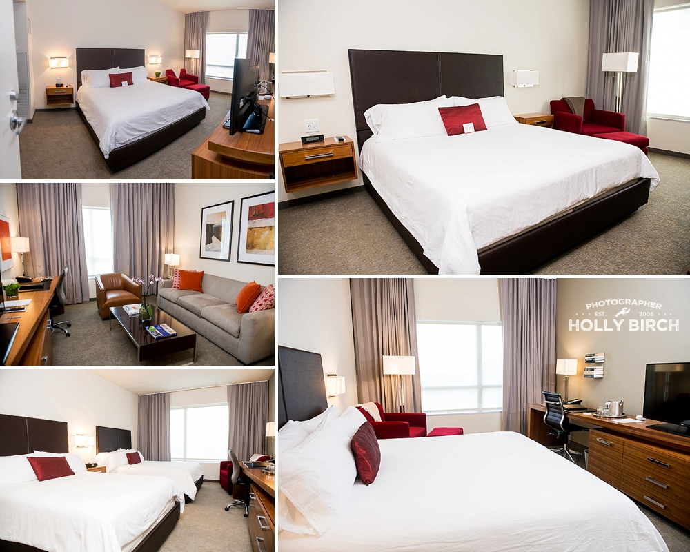 various guest room sizes available at iHotel