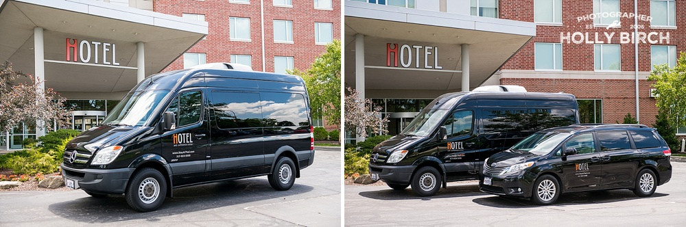 sprinter and minivan available for airport transfer at iHotel