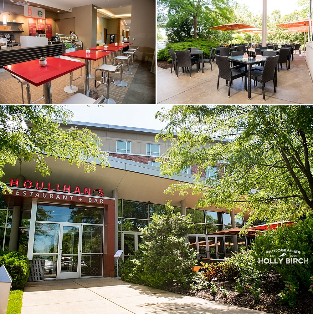 iCafe and Houlihan's restaurant and patio