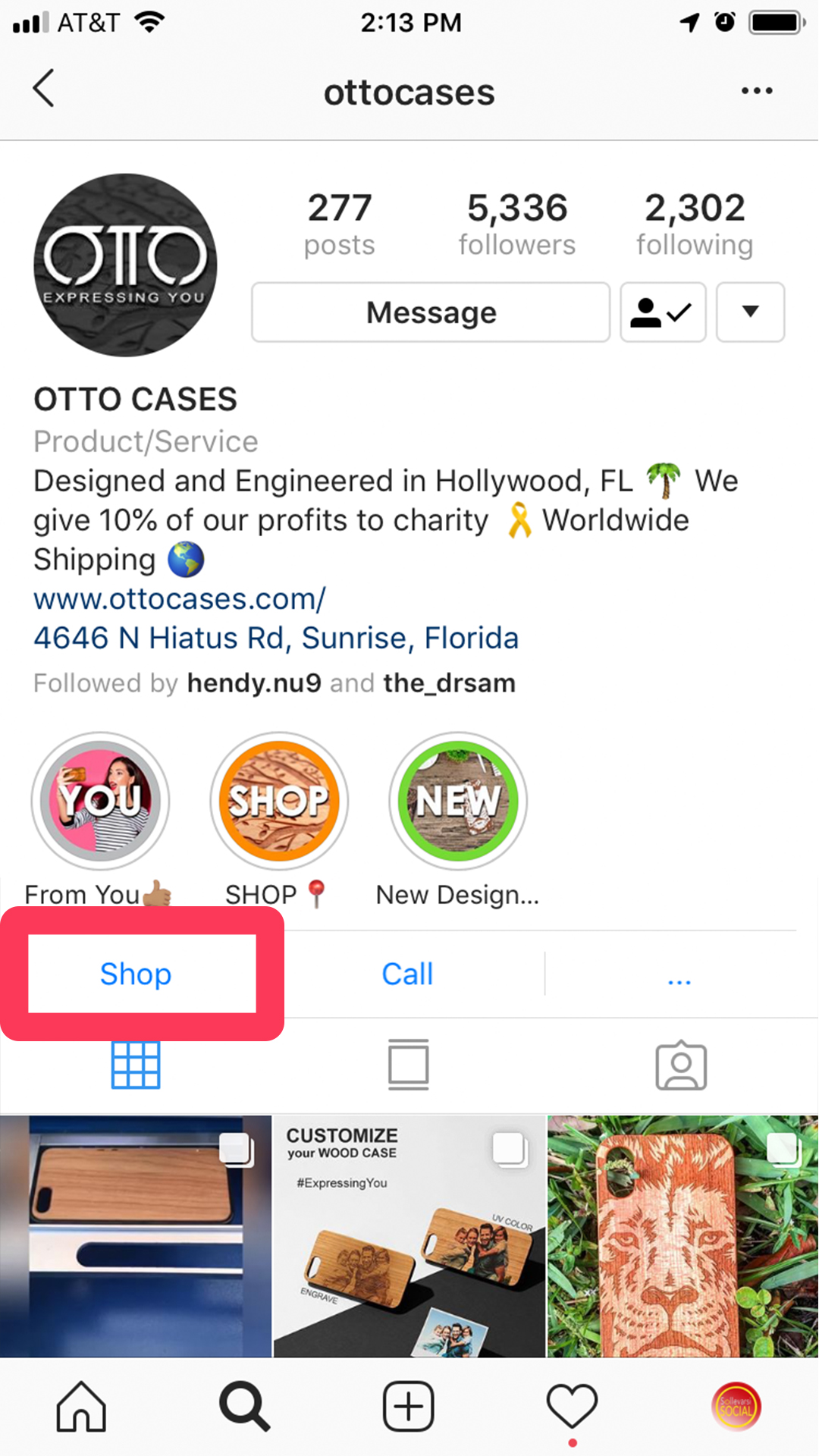ottocases Shop tab-IG Stories.jpg