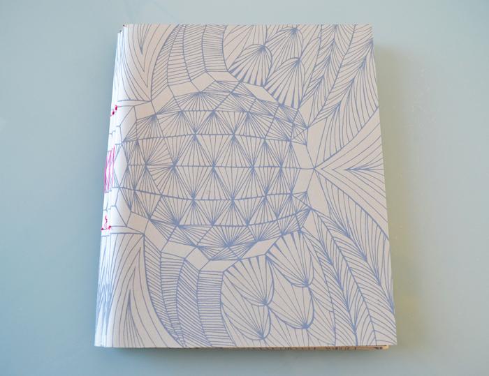 Ether-o-r.  silk screened artist book, ed. 50, 2009