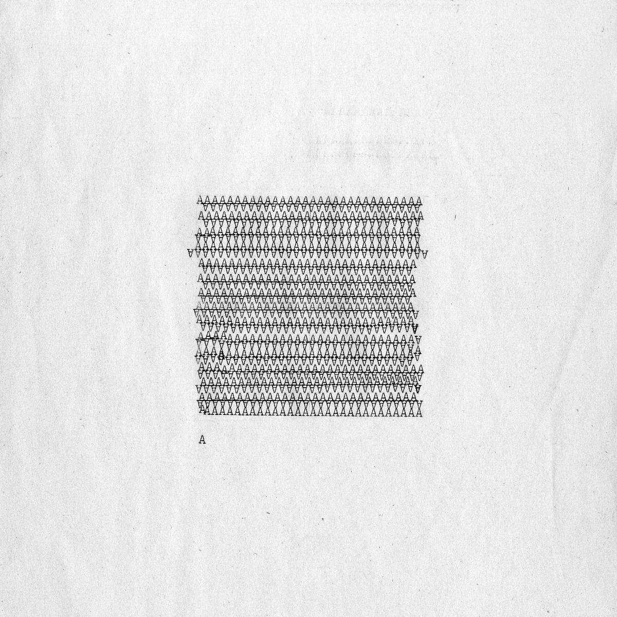 alphabet series was typed on Smith Corona Coronet-Super-12