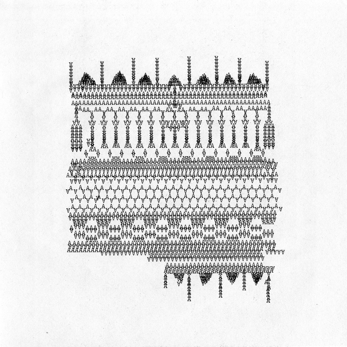 drawings typed on Smith Corona Coronet-Super-12