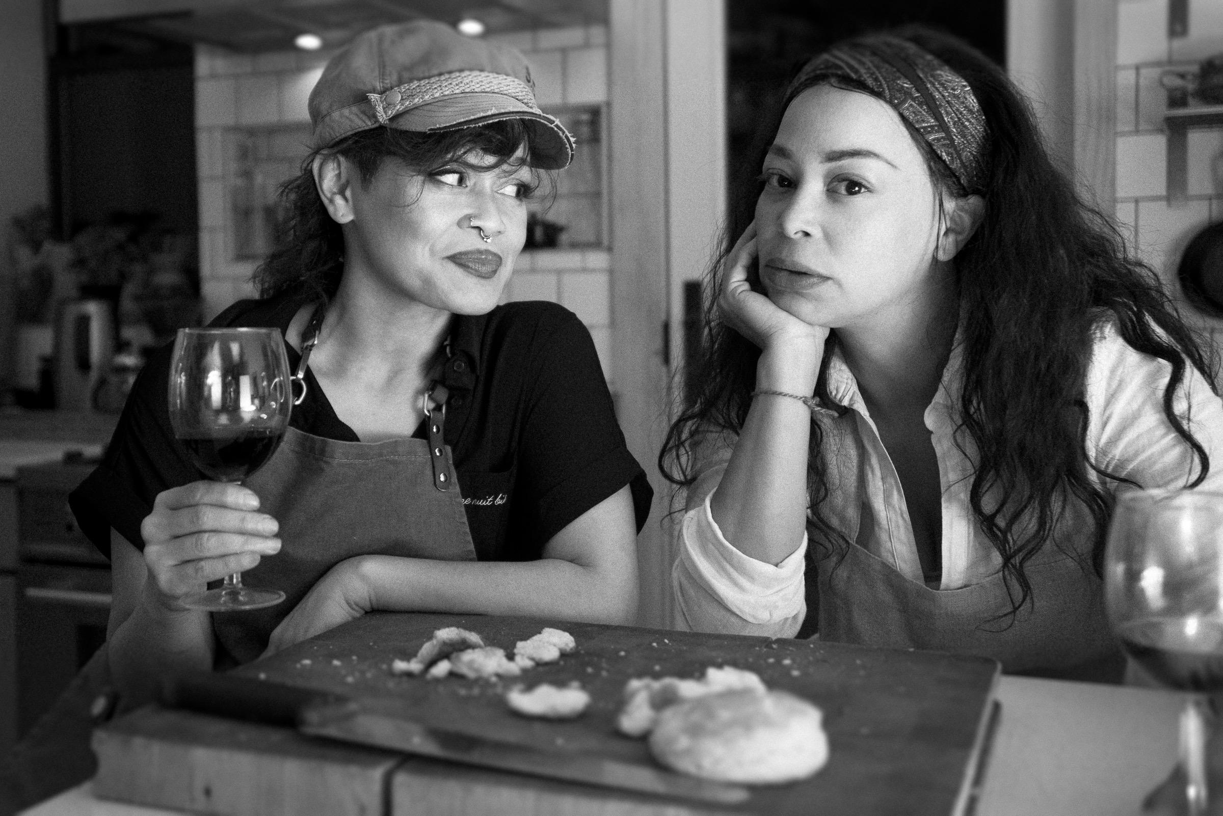 Chefs Miranti and Diavanna