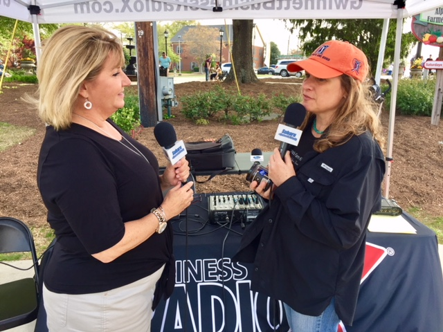 Regina chats with Business RadioX