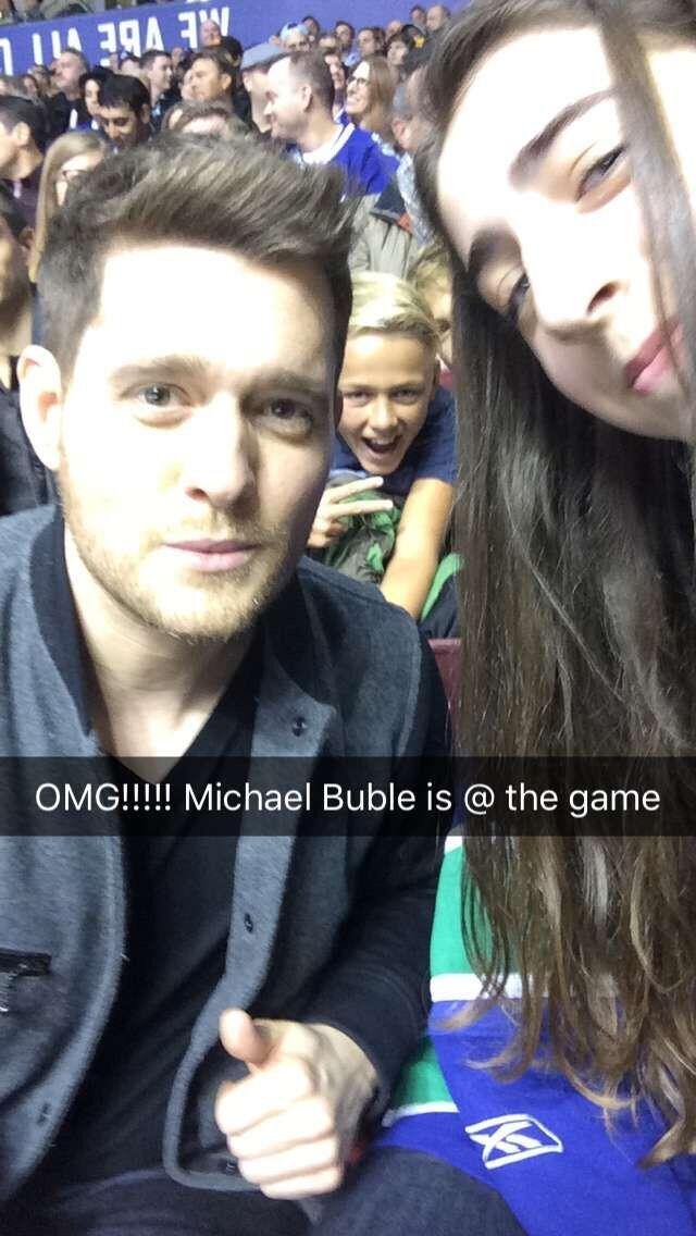 Maya Rae & Michael Buble