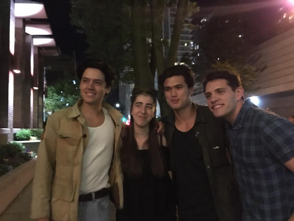 Maya Rae & The Cast from Riverdale