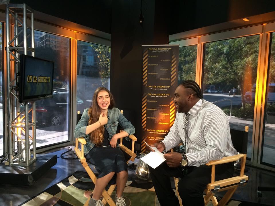 """Maya Rae Interview with """"On Da Grine with Valentine"""