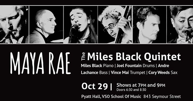 hi everyone!! i wanted to let you all know about my upcoming show at Pyatt Hall on October 29th! there are 2 shows (7pm & 9pm)...partial proceeds are going to the Coastal Jazz Youth Education program :) to buy tickets, please go to my website at www.mayaraemusic.com ! also, if you are a student (students get half off) please dm me and i'll let you know the student code for tickets ;) can't wait!! really hope to see some of your beautiful faces there💘🎶