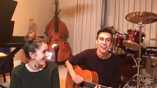 hi friends!! here's some fun videos of my cousin benjamin and I jamming around!! enjoy :)⭐️⭐️ @justcuz_music @benjaminmillmanmusic