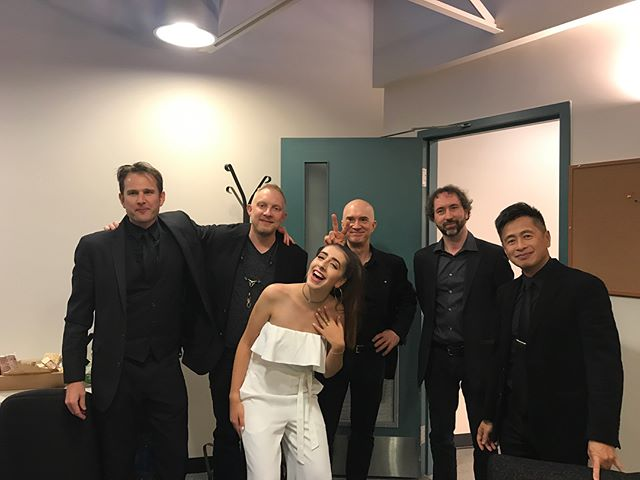 thank you to all of these incredible musicians for sharing the stage with me on wednesday night!! it was SUCH an amazing and unforgettable night :)💕🎶