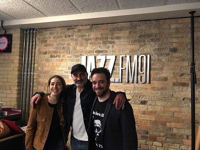 had a great time being interviewed on Jazz.FM91 yesterday afternoon with @oridaganjazz ! thanks so much to @tdot_jazzcat for having us :) can't wait for the CMW jazz showcase tonight at the @jazzbistroto 🎶🎶 show starts at 7:30pm EST!!