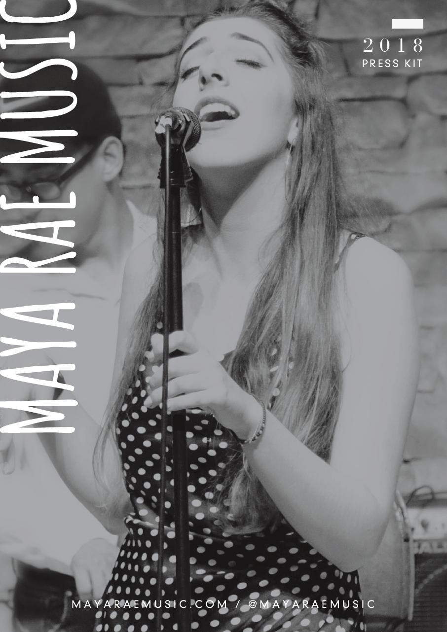maya rae music - epk -