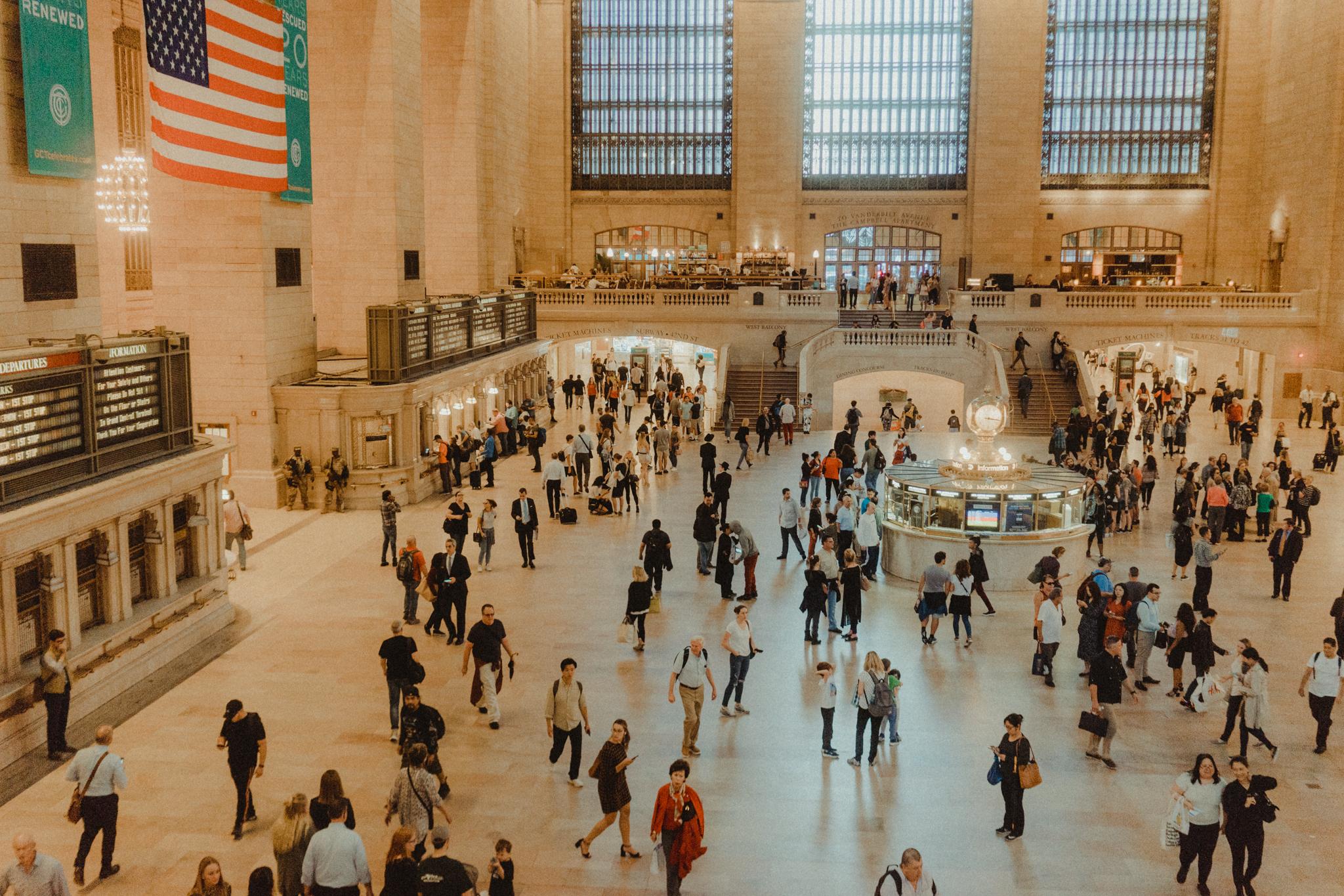 Grand Central Station, New York.
