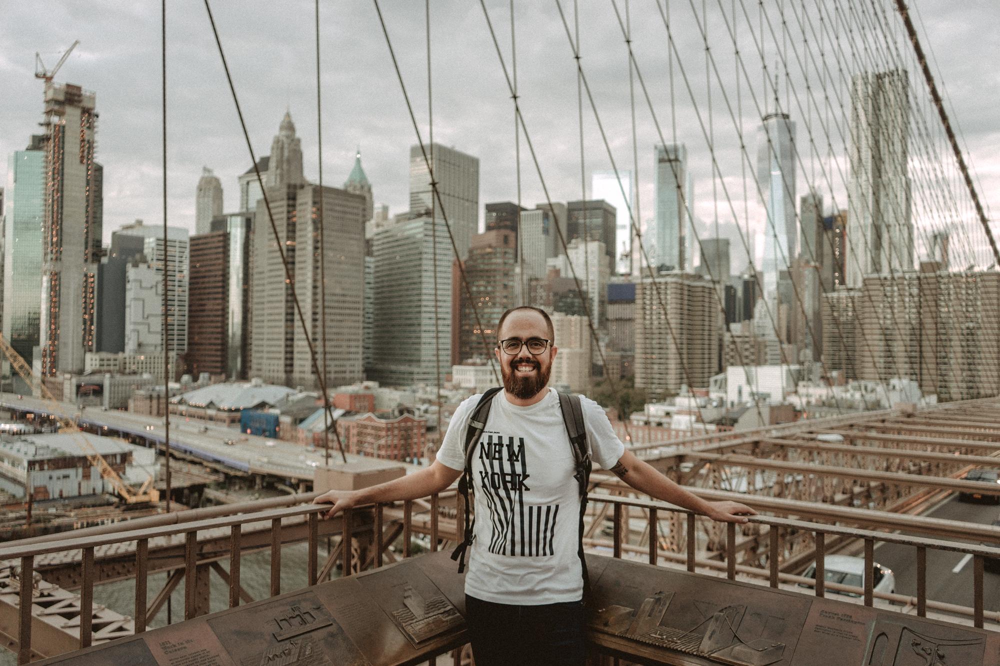 Vista desde el puente de Brooklyn.