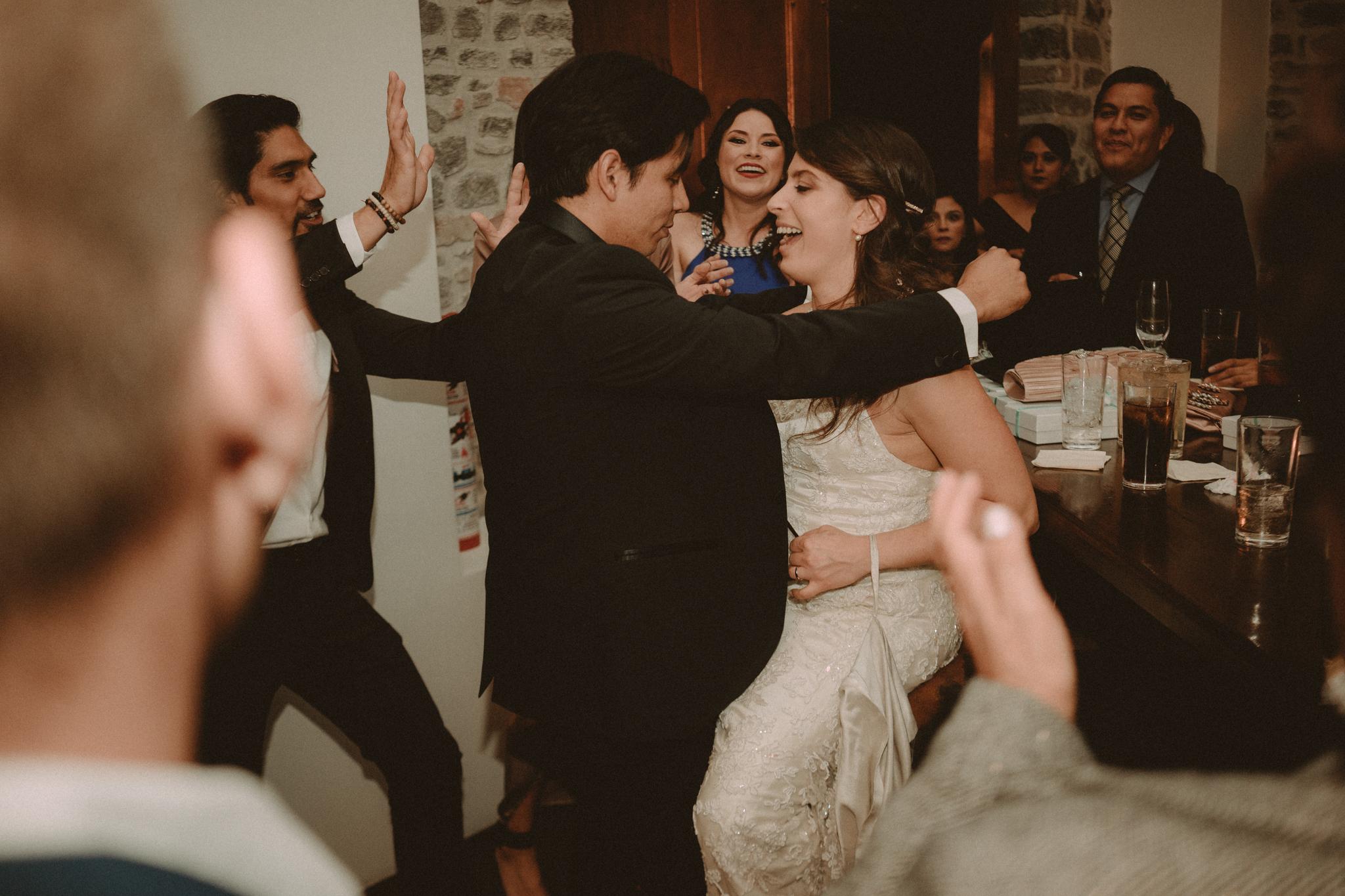 Recepción de boda en Los Lavaderos en el Hotel Rosewood.