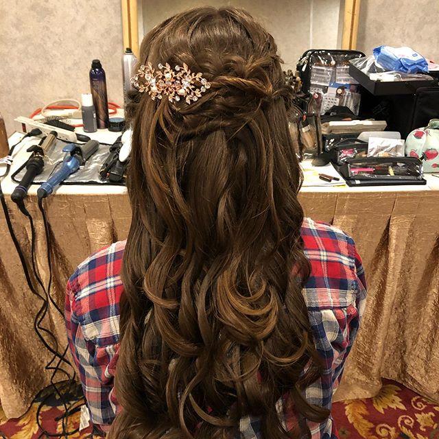 Wedding hair 💁🏼♀️