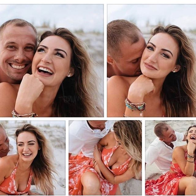 Stunning engagement photos 😍❤️ Loved doing hair and makeup on this beautiful bride to be