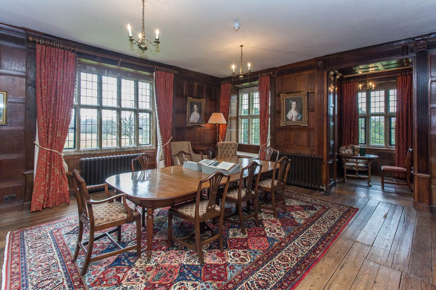 The Oak Room - where Jane Austen liked to sit