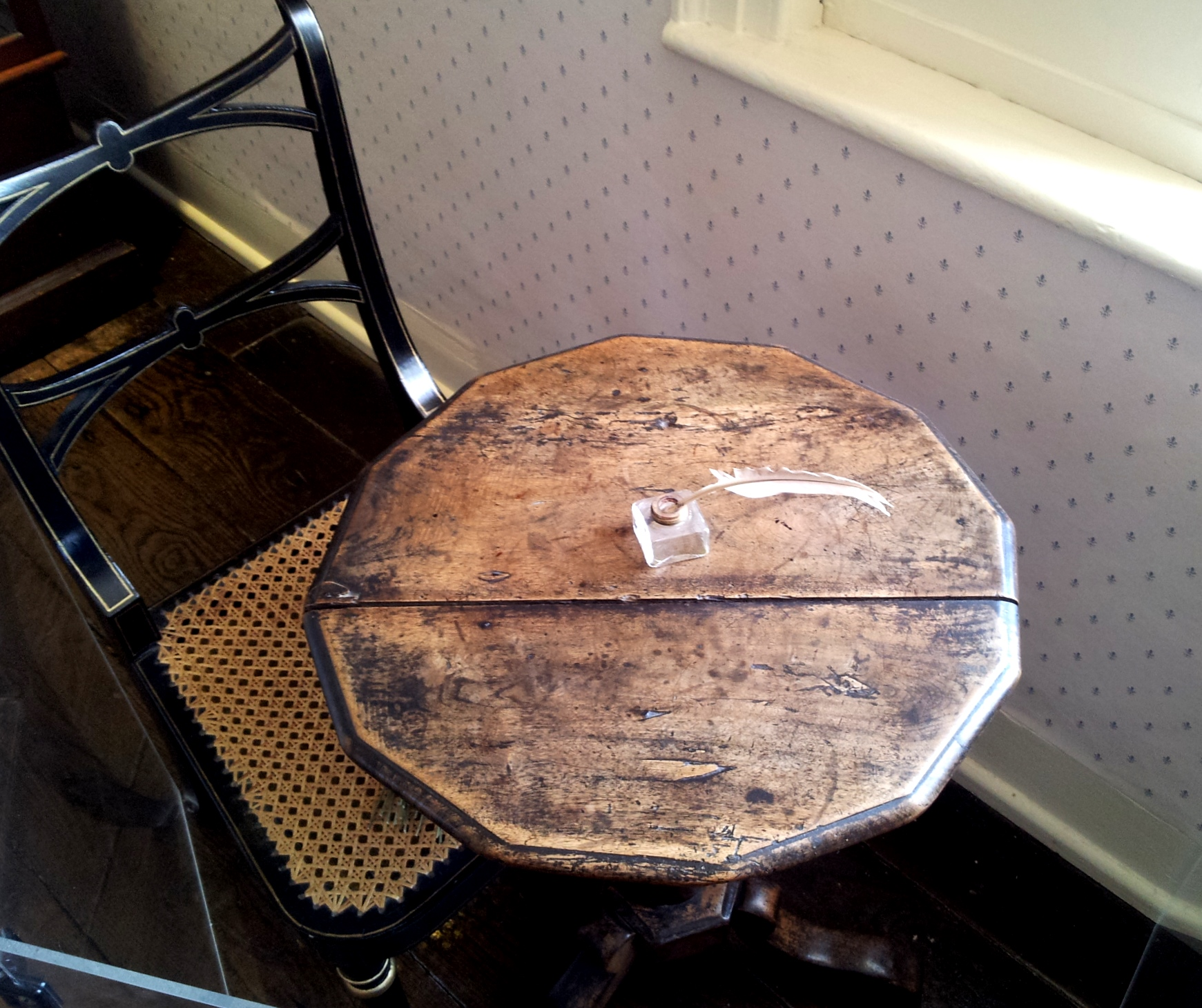 Jane Austen's writing table, Jane Austen's House Museum, Chawton