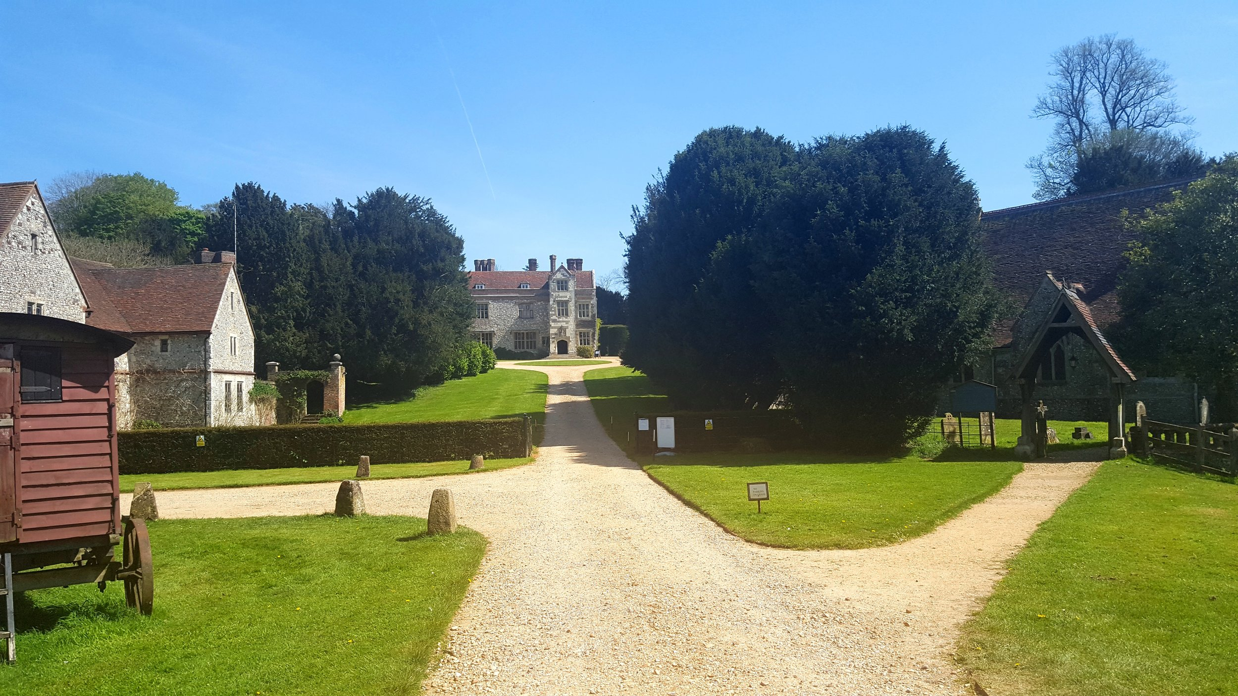 Chawton Great House as it is today.      Photo: Julia B Grantham