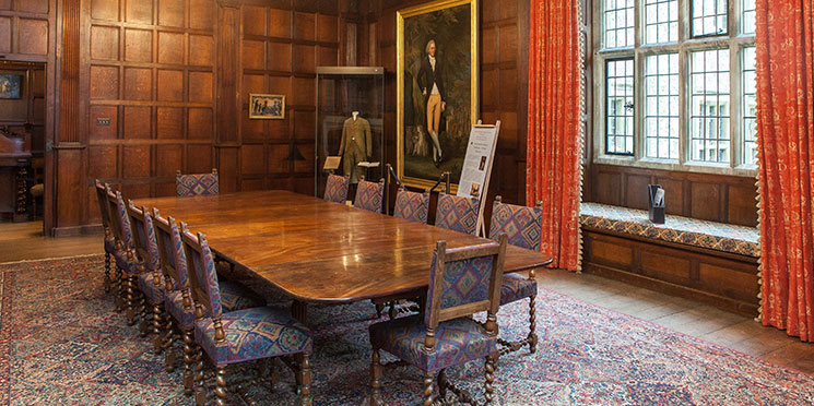 The dining room as it is now. Image: Chawton House Library