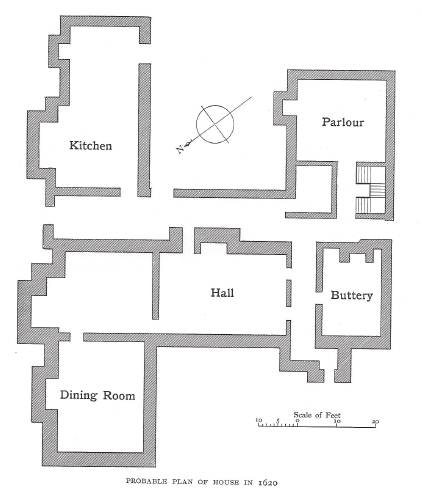 From the same book as above. The house was doubled in size and significantly extended to the rear.
