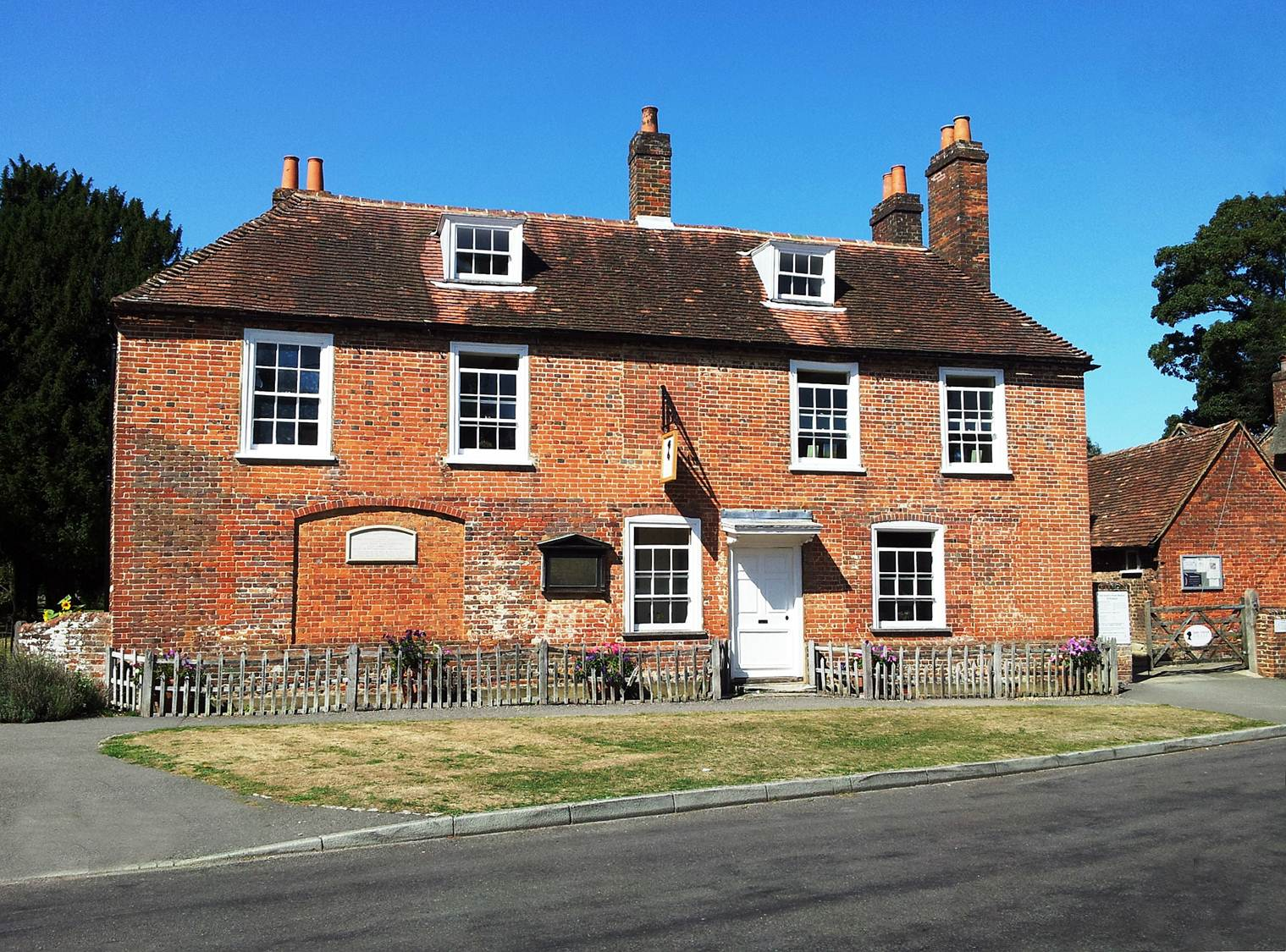 Jane Austen's House Museum in the village of Chawton.  Photo copyright: J.B.Grantham