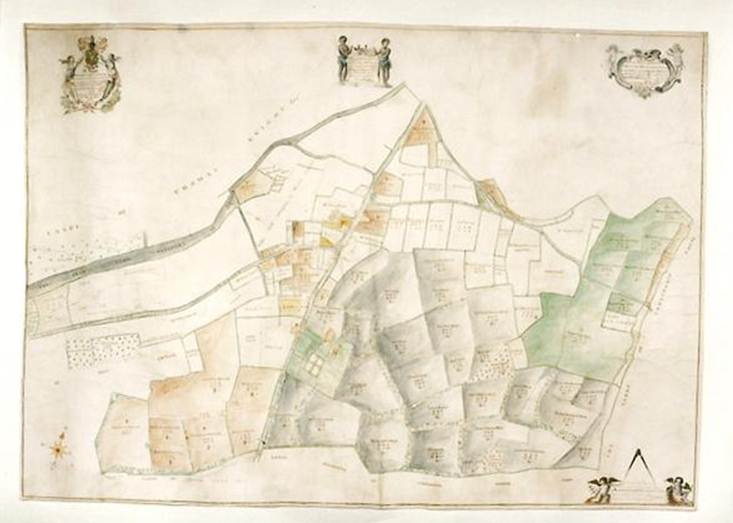 The Chawton lands of Thomas Knight - (photo copyright Caroline Jane Knight)
