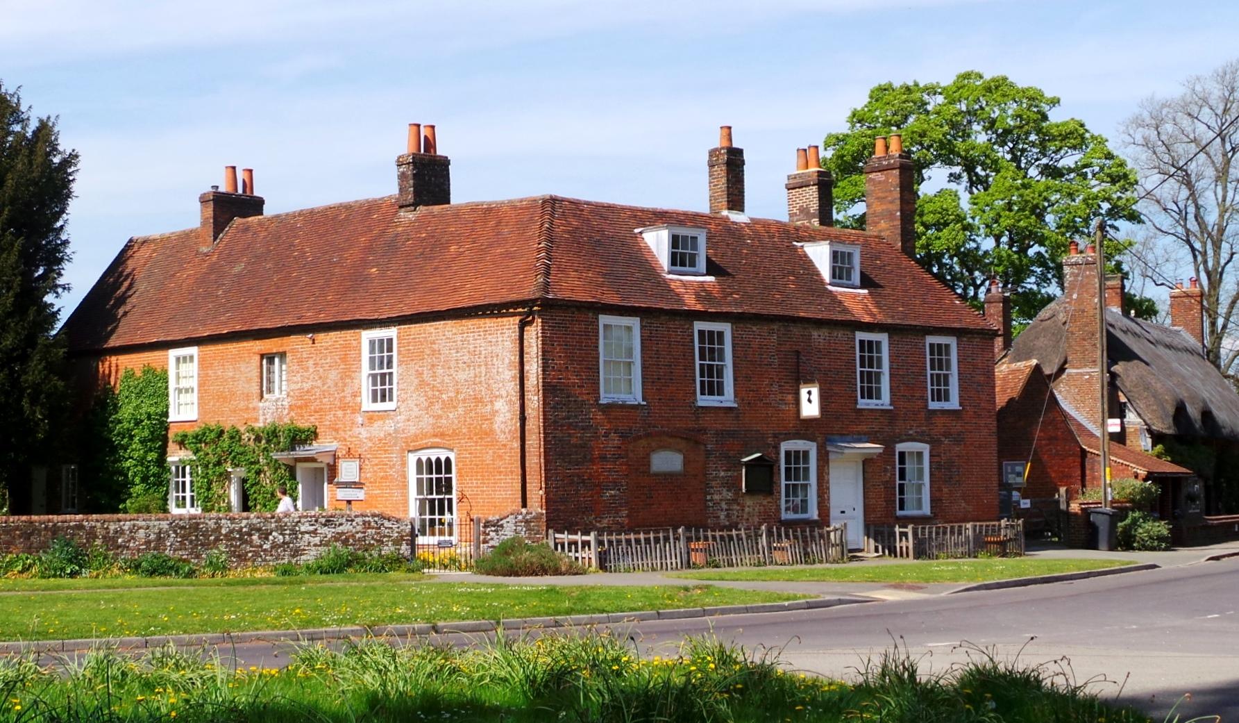 Jane Austen's House, Chawton(photo copyright Julia B Grantham)