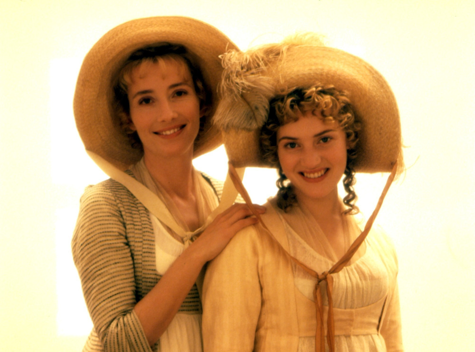 Elinor and Marianne Dashwood, as portrayed by Emma Thompson and Kate Winslet.