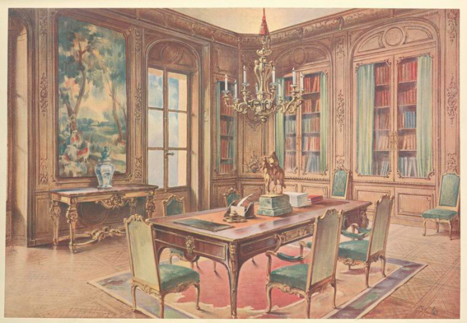 Carlton House Library.  Image: janeausteninvermont.blog)