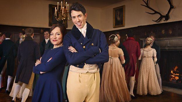 Pride & Prejudice: Having a Ball filmed in the Great Hall at Chawton House