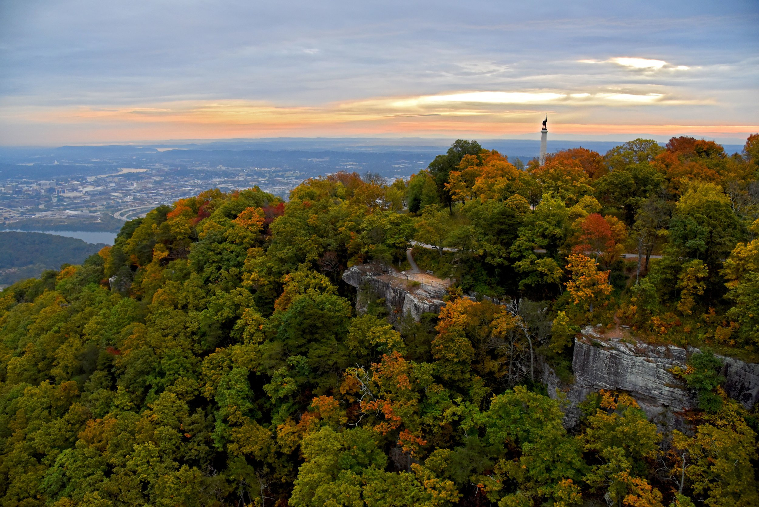 Lookout Mountain View of Chattanooga