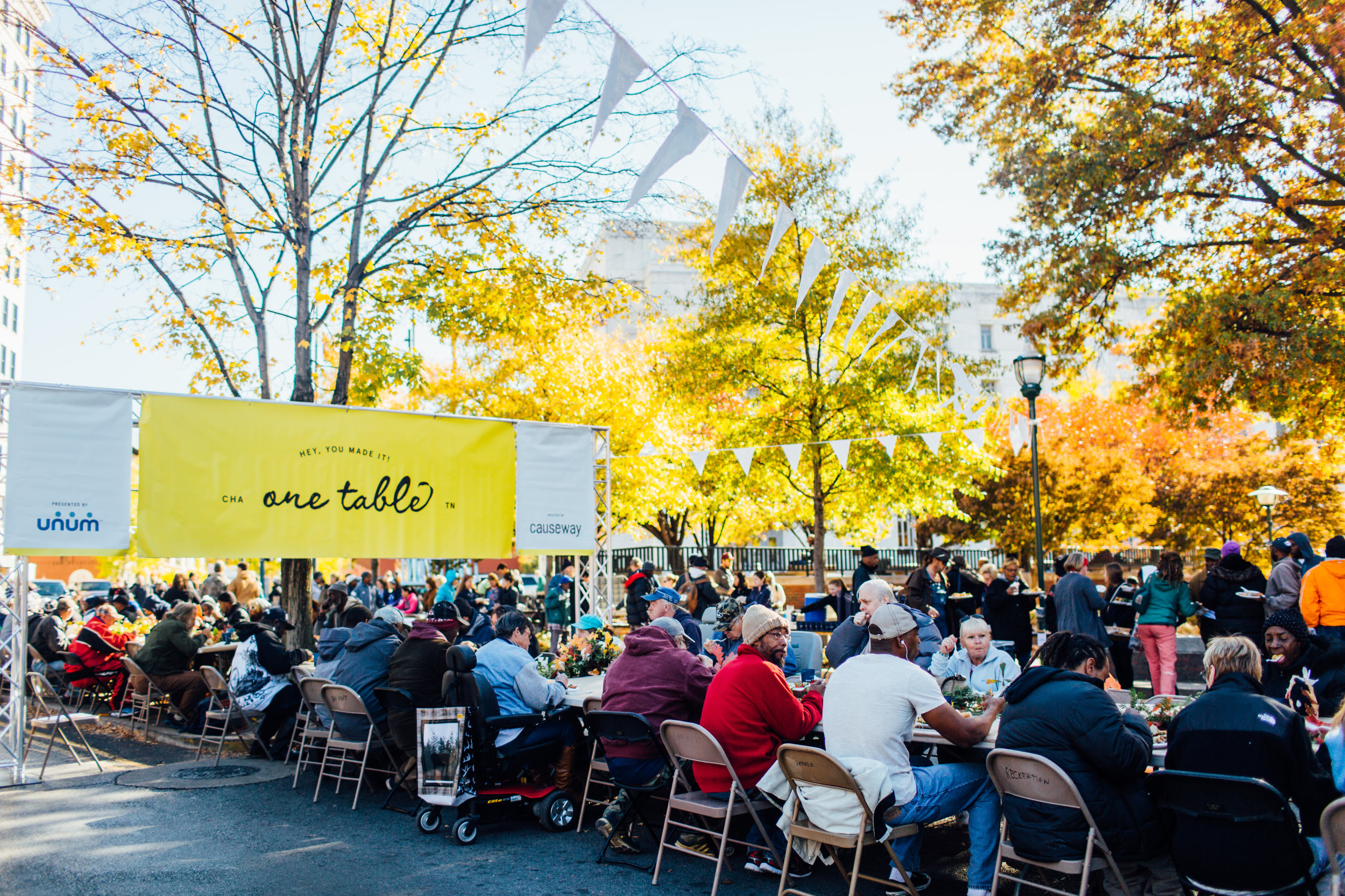 One Table brings Chattanooga together