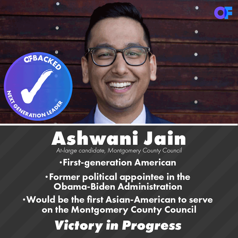 Opportunity First PAC endorses Ashwani Jain