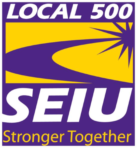 SEIU 500 Logo