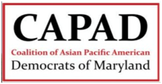 Coalition of Asian Pacific American Democrats of Maryland Endorsement Logo