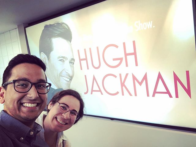 Suprised the wifey with tickets to see @thehughjackman LIVE! #GreatestShowman