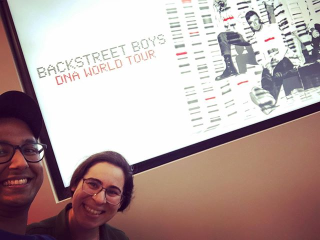 Just because she's my everything, surprised the wifey to ‪@backstreetboys #DNAWorldTour #AnotherOne