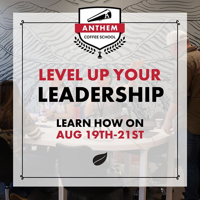 Tired of being stuck in the same place? 🤔 LEVEL UP with Anthem Coffee School and enlighten your thoughts :) #coffeeschool #anthem #tacoma #anthemcoffeeschool #barista #learn #business #network #community #leadership #levelup #learnhow