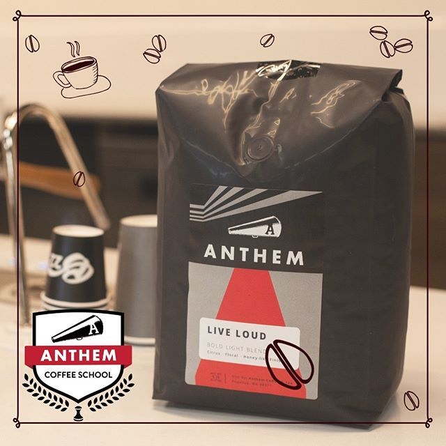 Have you tried any of our coffee yet? It's delish~ ☕😋 #coffeeschool #anthem #tacoma #anthemcoffeeschool #barista #learn #business #network #community #share #goal