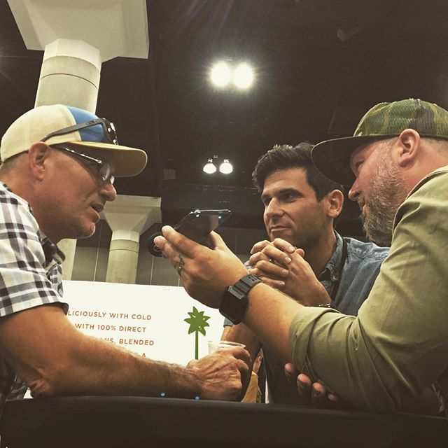 Live podcast at @coffeefestshow with @durangojoes