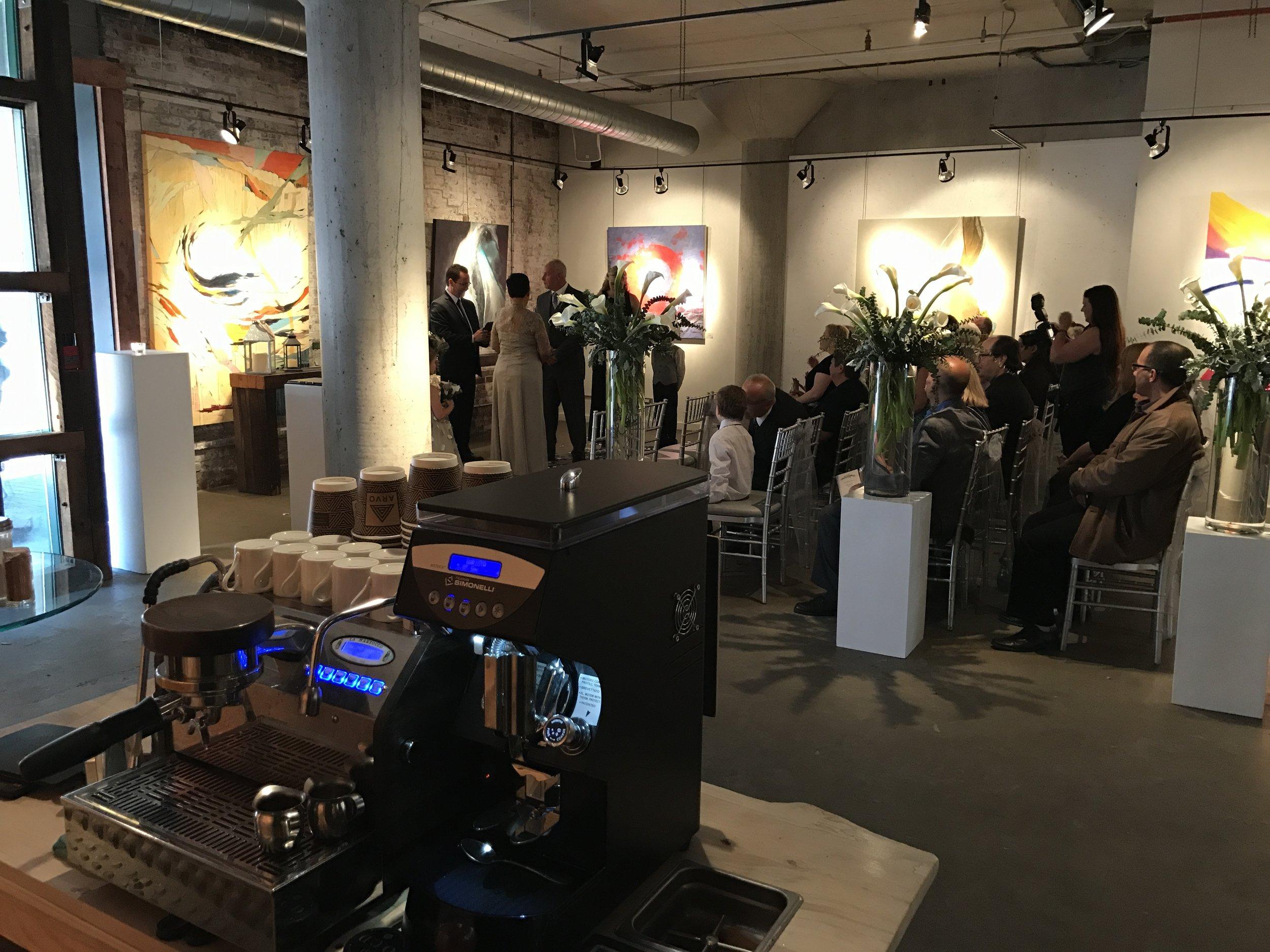 Arta Gallery Wedding