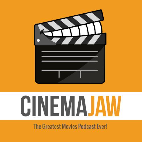 CinemaJaw logo designed by Eliaz Rodriguez