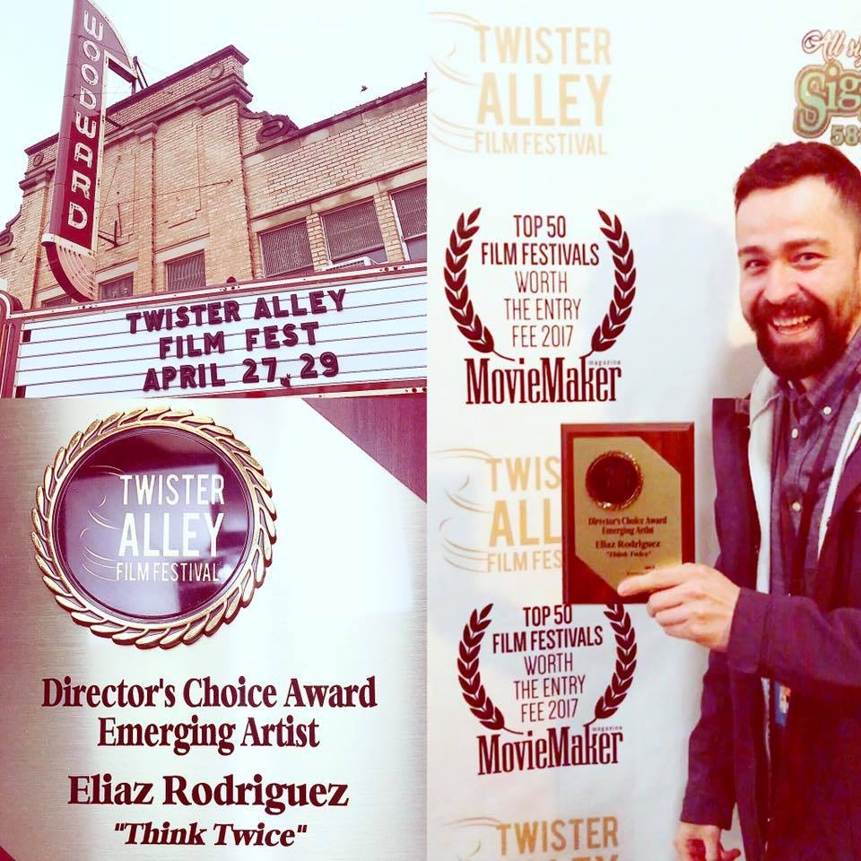 Emerging Artist Award -  Twister Alley Film Festival Director's Choice