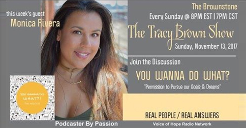 The Brownstone: Tracy Brown Show (Voices of Hope Radio) -