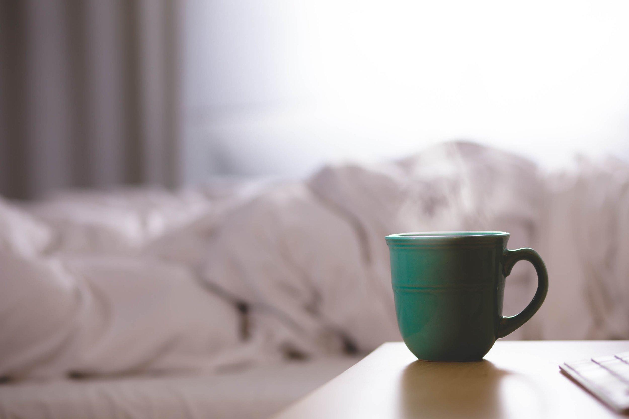 Mug and Bed