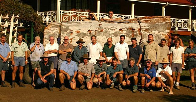 #fbf Just some of many on the RAC construction crew back in 2007 #rodandersenconstructions #timber #construction